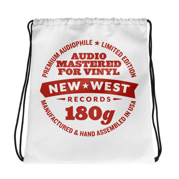 New West Logo Drawstring bag