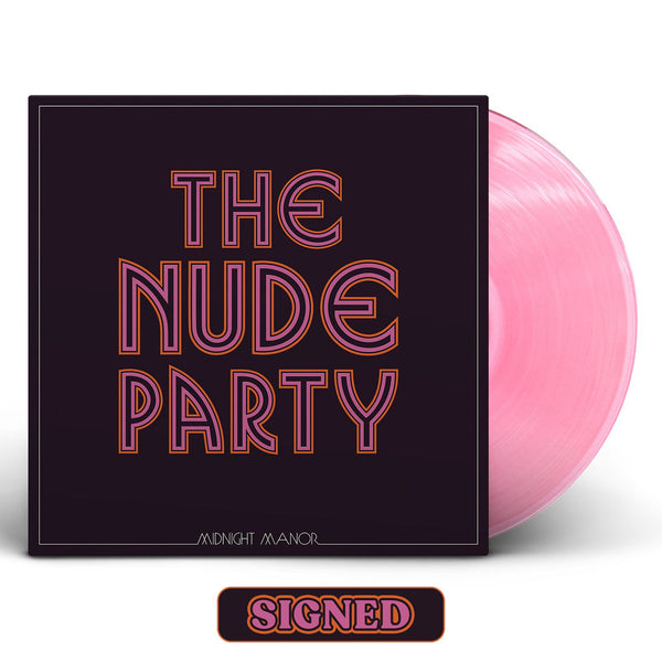The Nude Party - Midnight Manor [SIGNED New West Exclusive Colored Vinyl + SIGNED CD + T-Shirt Bundle]