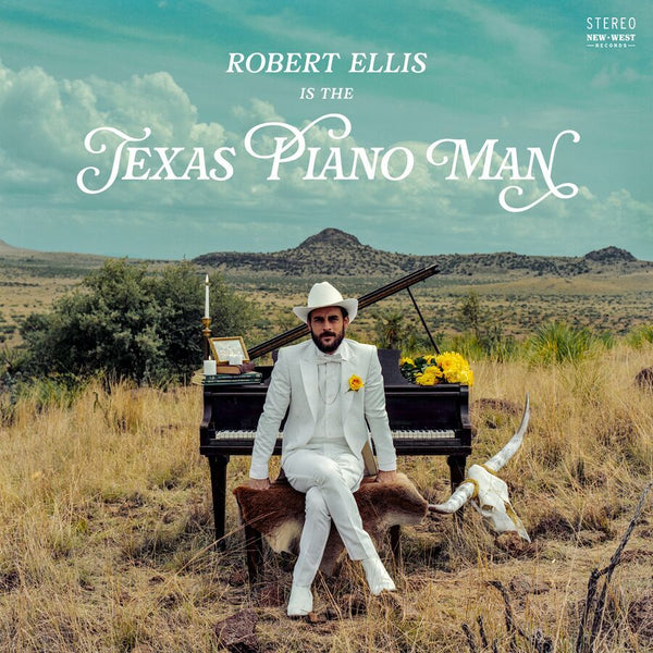 Robert Ellis - Texas Piano Man [New West Exclusive Colored Vinyl]