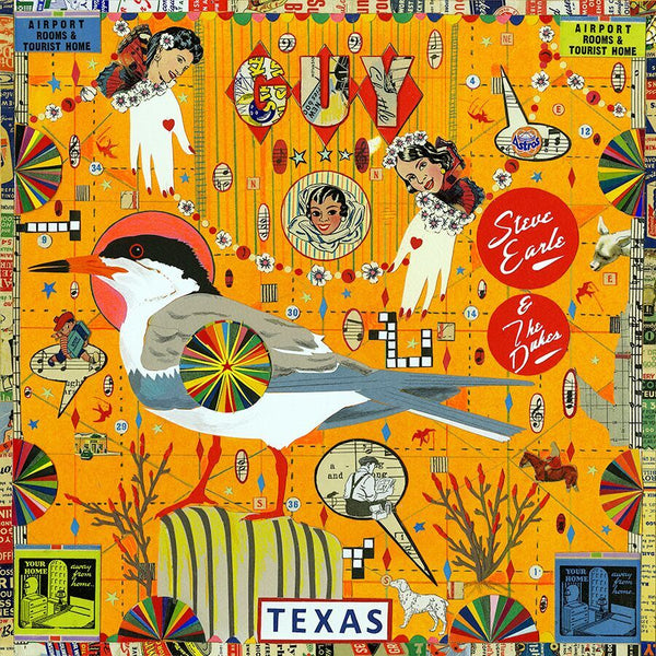 Steve Earle & The Dukes - GUY [New West Exclusive Colored Vinyl]