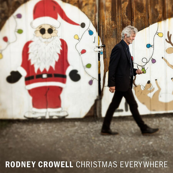 Rodney Crowell - Christmas Everywhere [Standard Vinyl - Coal Colored]