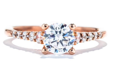 Gabriel New York 14K Rose Gold Solitaire Engagement Ring ER11755R3