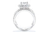 Adele Diamond 14K White Gold Halo Engagement Ring ER11997R6