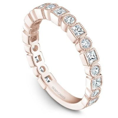 Noam Carver 14K Gold Stackable Ring - 19 Round Diamonds STB18-1M-D