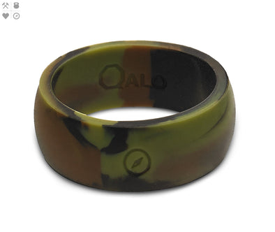 Gents QALO Outdoors Camo Silicone Band
