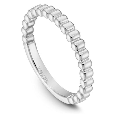 Noam Carver Platinum Stackable Ring STB1-1WZ