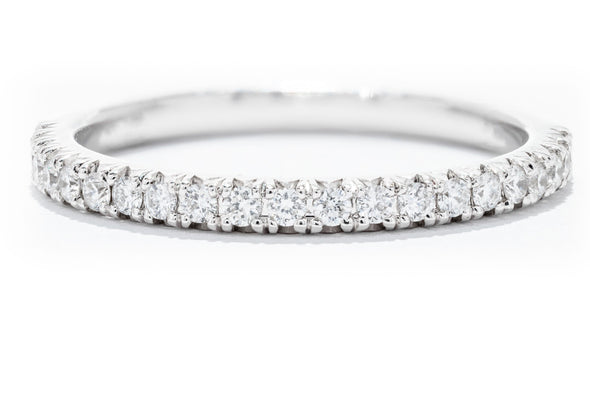Diamonds Forever 14K White Gold Diamond Women's Wedding Band W992B