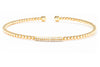 Gabriel New York 14K White Gold .14ctw Diamond Bangle Bracelet BG4119W45JJ