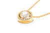 Adele Diamond 14K Yellow Gold .81ctw Diamond Fashion Necklace