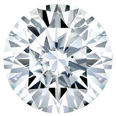 Moissanite 6mm-11.5mm D/E/F Colorless Brilliant Round Shape Certified USA