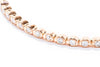 Adele Diamond 14K Rose Gold .40ctw Diamond Bangle Bracelet IGC068669