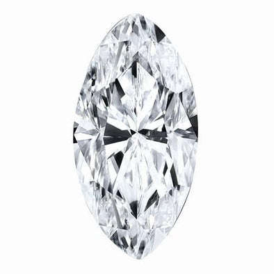 Moissanite 10x5mm-14x7mm D/E/F Colorless Marquise Shape Certified USA