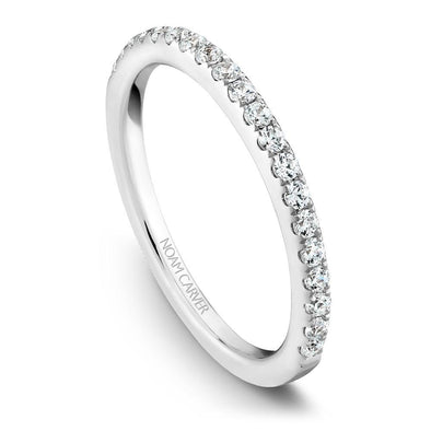 Noam Carver 14K White Gold Classic Wedding Band B011-01B