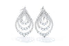 Gabriel New York Amavida 18kt Diamond Layered Teardrop Earrings EG13254W84JJ