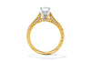 Gabriel New York 14K Yellow Gold Solitaire Engagement Ring ER12315R3M44JJ