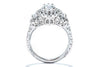 Gabriel New York 14K White Gold Halo Engagement Ring ER8320