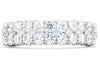 18K White Gold 1.9ctw Diamond Wedding Band IGC068423