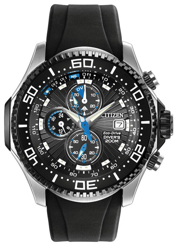 Citizen PROMASTER DEPTH METER CHRONOGRAPH BJ2115-07E Watch