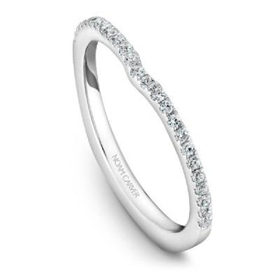 Noam Carver 14K White Gold Anniversary Wedding Band S015-02B