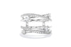 Gabriel & Co 14K White Gold 0.51ctw Contemporary Diamond Enhancer