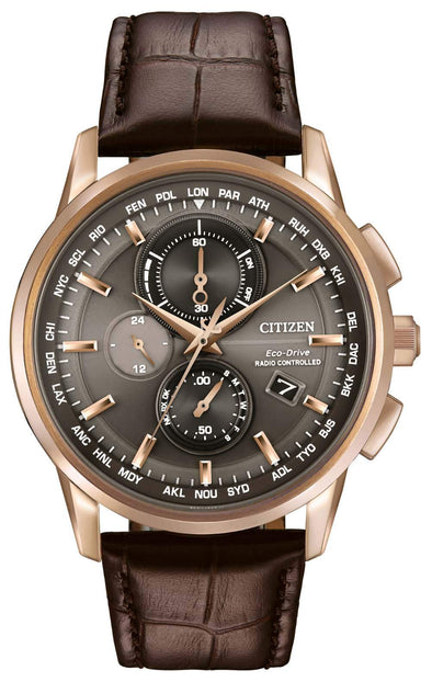 Citizen World Chronograph A-T AT8113-04H Watch