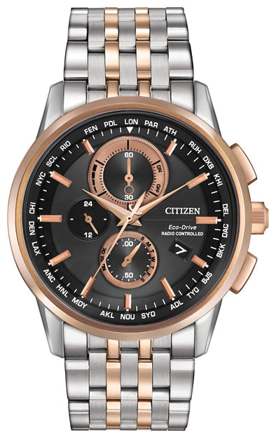 Citizen WORLD CHRONOGRAPH A-T AT8116-57E Watch