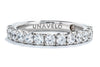 Unique Settings of NY 18K White Gold Classic Wedding Band WB01177