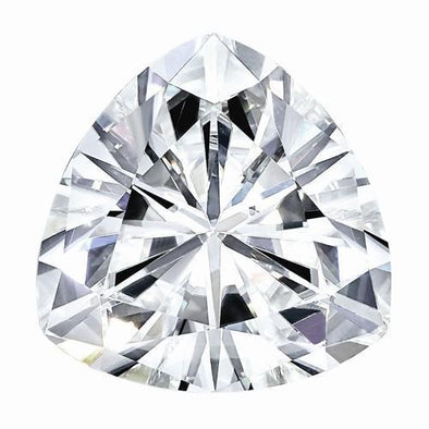 Moissanite 6mm-9mm D/E/F Colorless Trillion Shape Certified USA