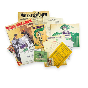 Suffragettes replica pack