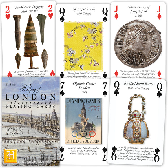 London History Playing Cards