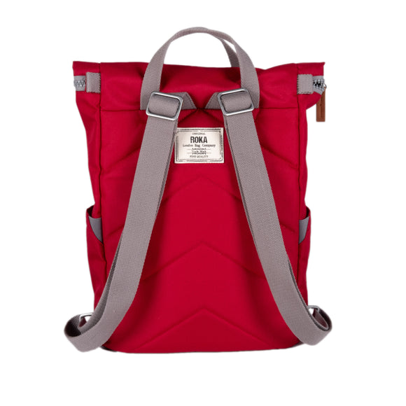 Eco Roka Red Backpack Medium