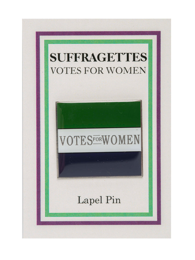 Votes for Women flag pin – Museum of London