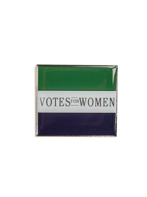 Votes for Women flag pin