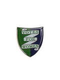 'Votes For Women' shield pin