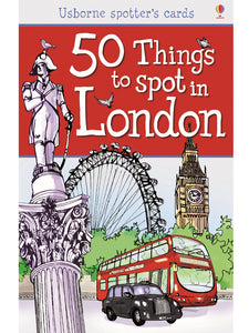 50  Things to Spot in London (Usborne Spotters' Cards) by Rob Lloyd Jones