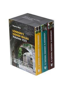 London's Hidden Walks: Volumes 1-3. Books by Stephen Millar