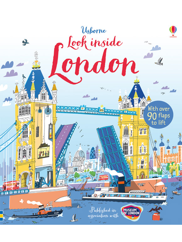 Look Inside LondonBook by Jonathan Melmoth, published by Usborme/Museum of London