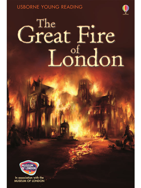 The Great Fire of London Book, published Usborne/Museum of London