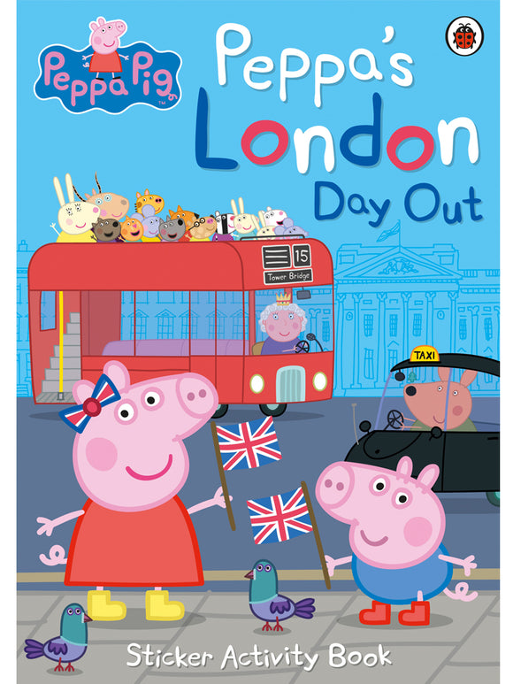 Peppa's London Day Out Sticker Book