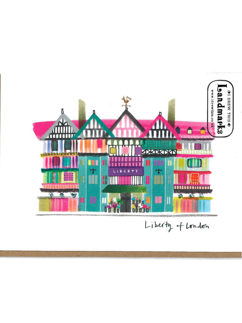 Liberty of London greeting card