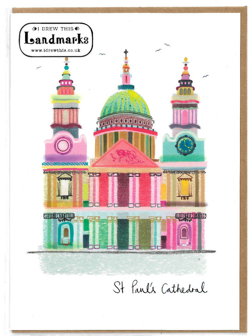 St. Paul's greeting card