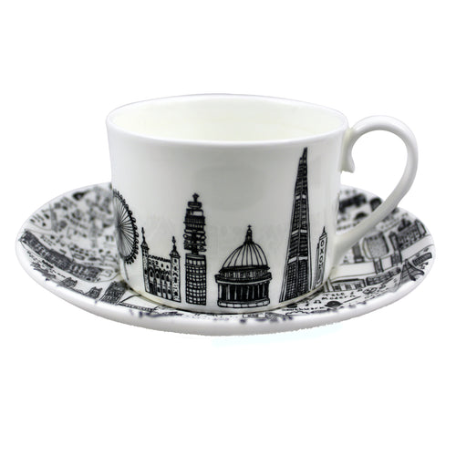 Central London Cup & Saucer Set