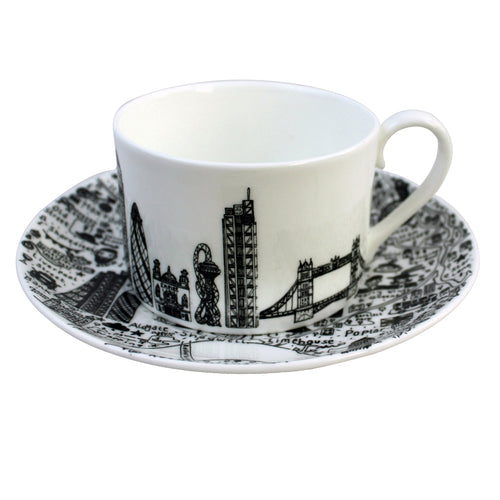 East London Cup & Saucer Set