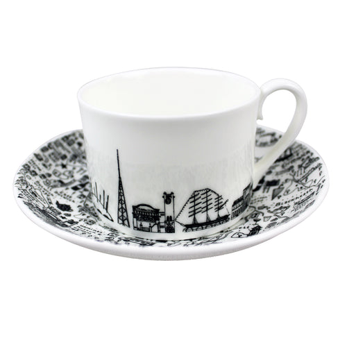 South East London Cup & Saucer Set