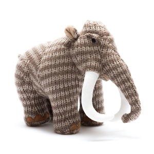 Knitted mammoth