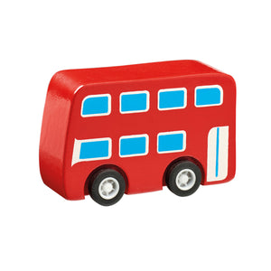 Mini Wooden Bus