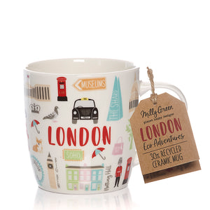 London Eco ceramic mug
