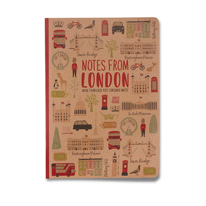 London Eco notebook A5