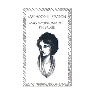 Mary Wollstonecraft Pin Badge