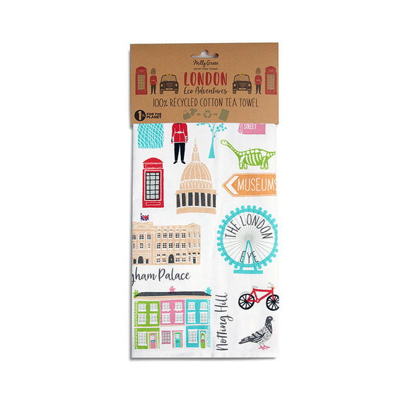 London Eco tea towel